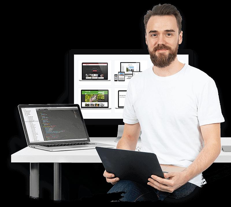 Bruce Sigrist, Norwich-based web designer