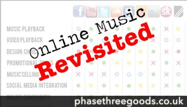 Online music revisited