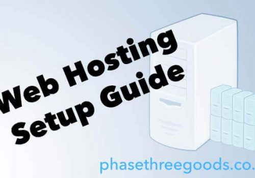 web hosting setup guide