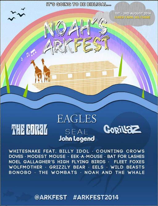 Noah's Arkfest April Fool Prank