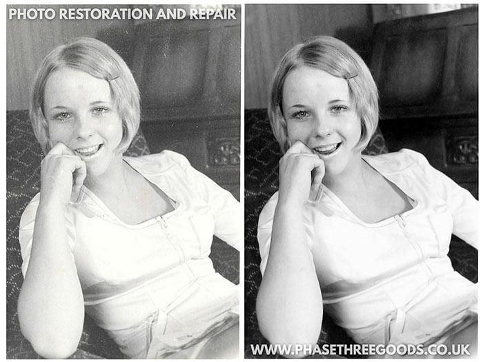 Photo repair of a spouse