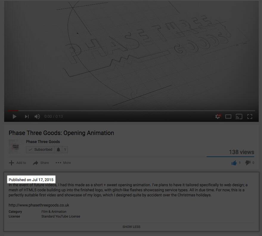 YouTube embed affecting SEO