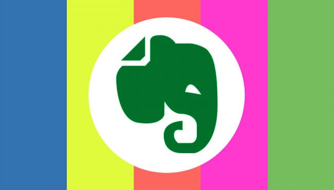 Colour Coding Evernote Tags