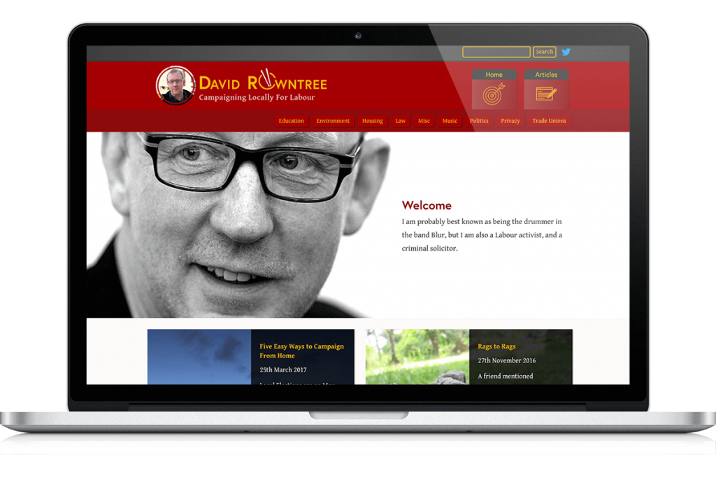 David Rowntree website