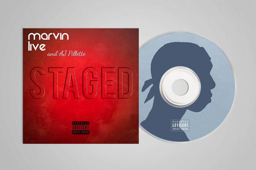Marvin Live EP Artwork