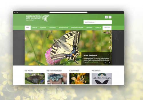 SBBT - Swallowtail Website Project