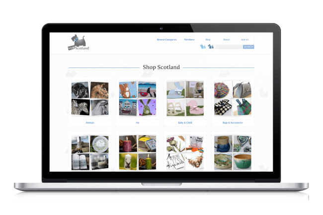 Shop Scotland Website