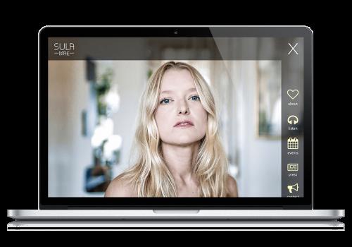 Sula Mae Website Design