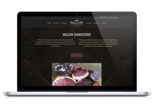Wallow Charcuterie Website