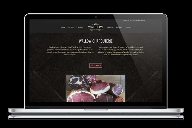 Wallow Charcuterie Website