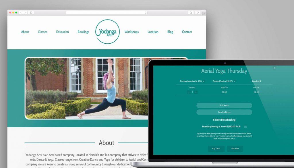 Yodanga Arts Website Design