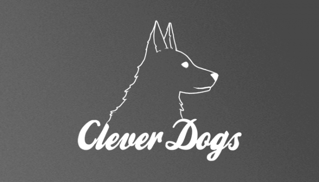 Clever Dogs Logo Design