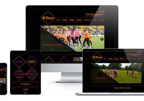 KTroo responsive website layout
