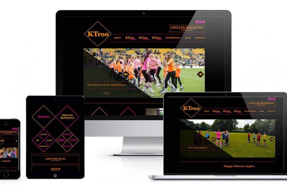 KTroo responsive website layout