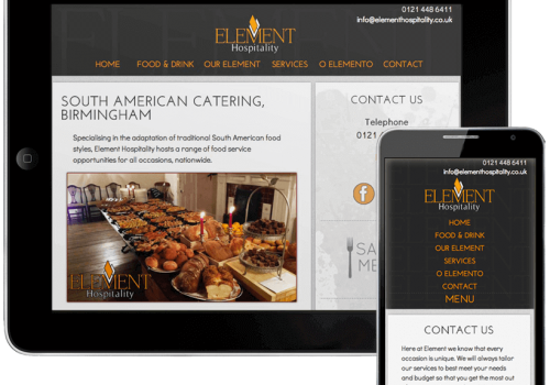 Element Hospitality Website