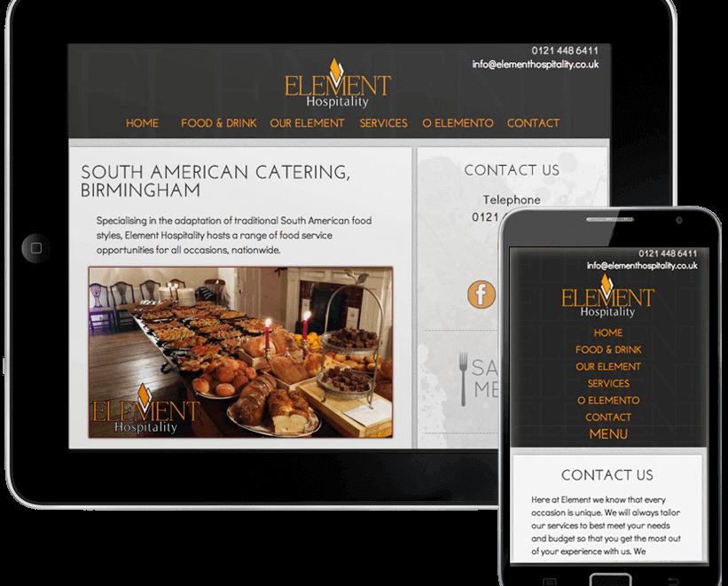 Element Hospitality Website