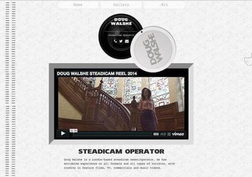 Doug Walshe Steadicam Website
