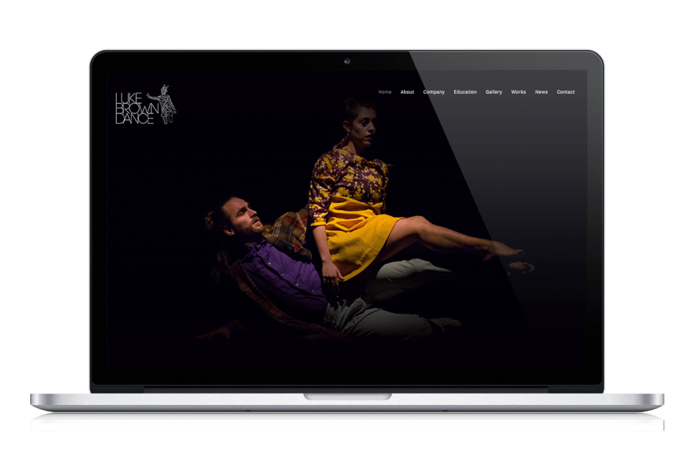Luke Brown Dance Company Website 2018