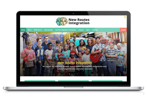 New Routes Integration - Homepage