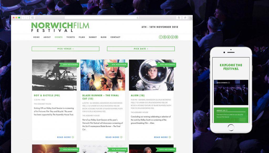Norwich Film Festival Portfolio