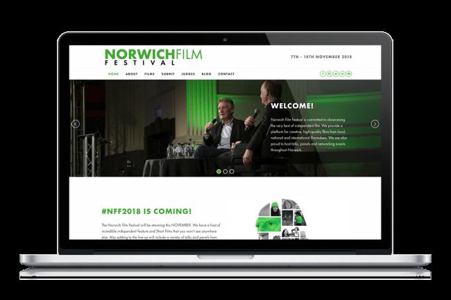 Norwich Film Festival - Screenshot