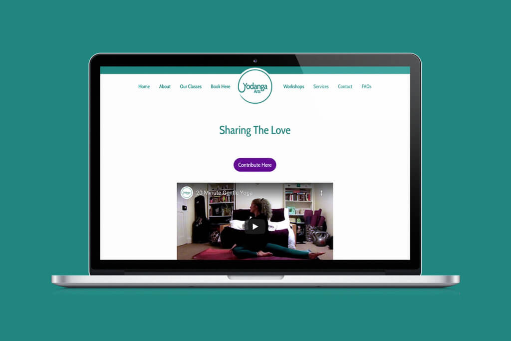 """Share The Love"" online yoga classes from Yodanga Arts"