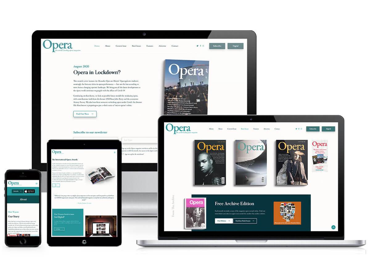 Opera Magazine Responsive